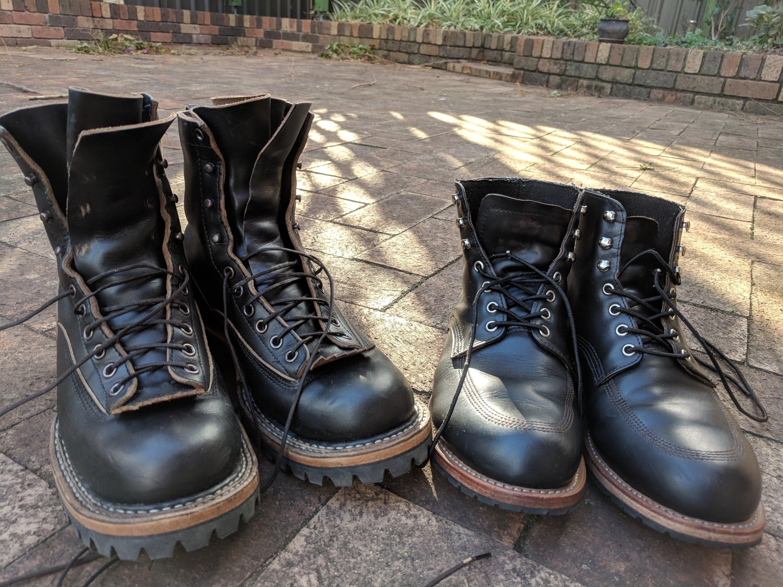 Vintage wesco boot